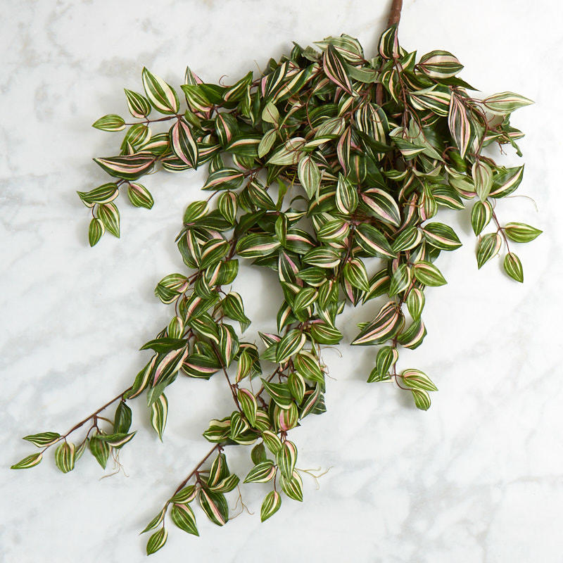 Factory Direct Craft Artificial Wandering Jew Bush