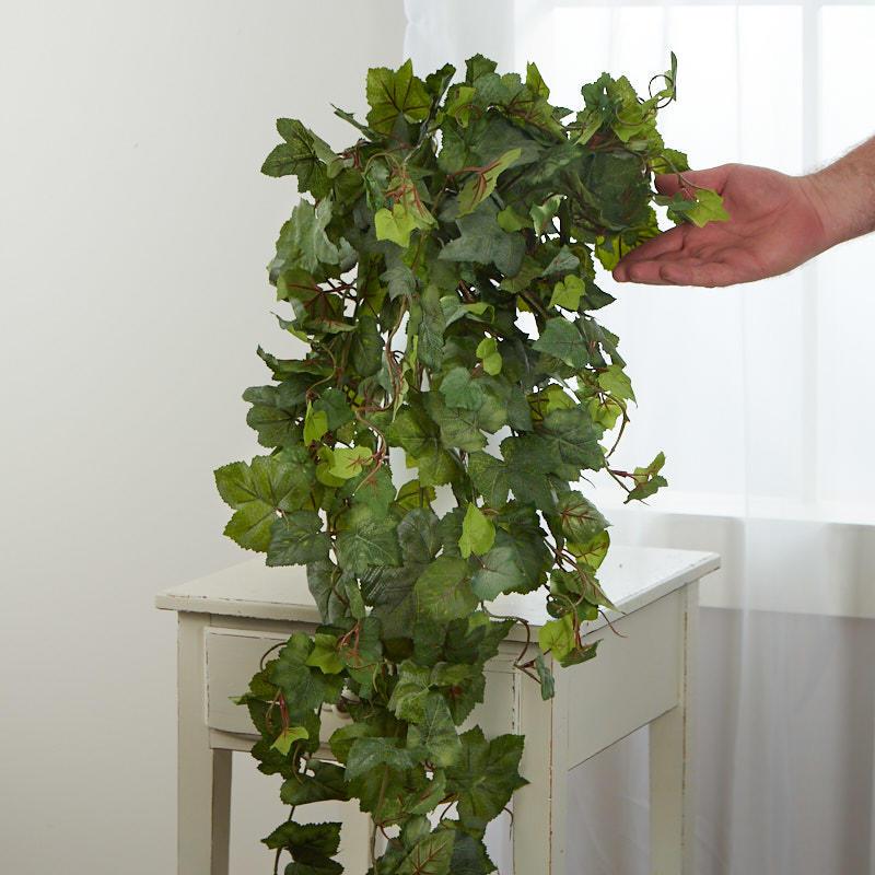 how to make a bay leaf garland