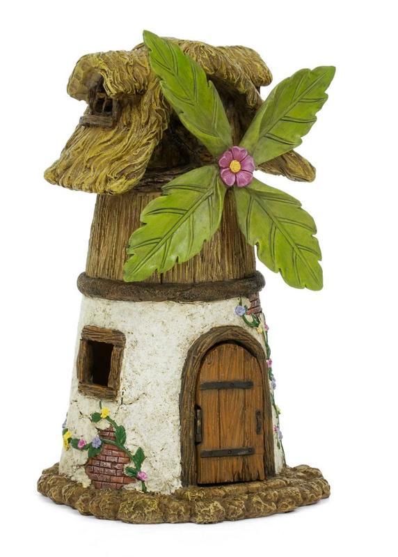 Gnome Garden: Miniature Fairy Garden Windmill House