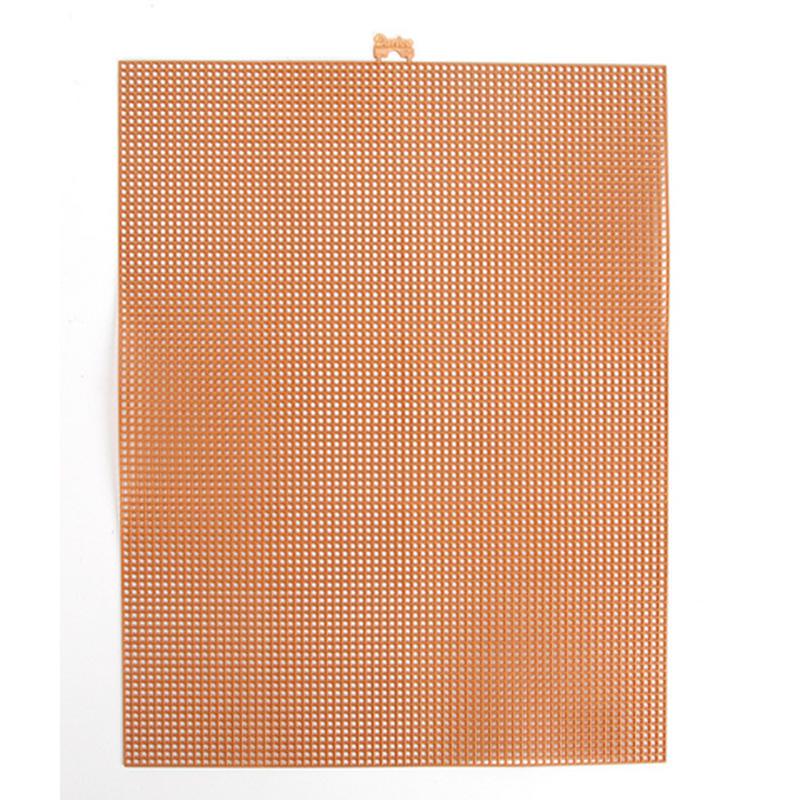Copper Metallic Plastic Mesh Canvas Sheets Plastic