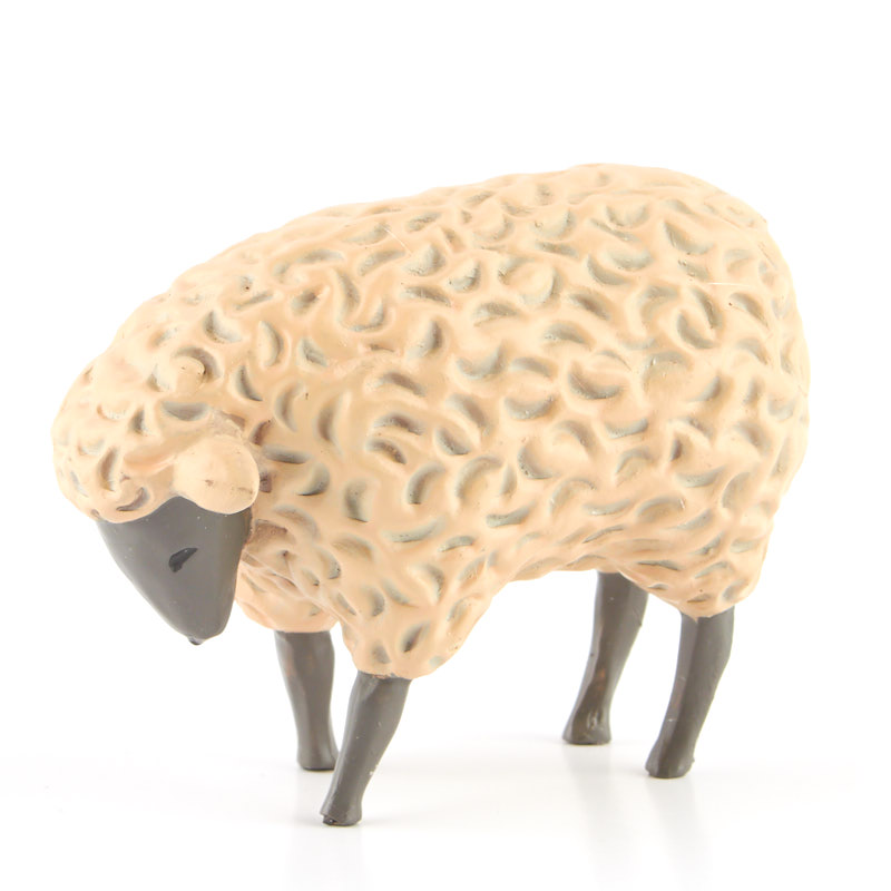 Grazing Sheep Figurine