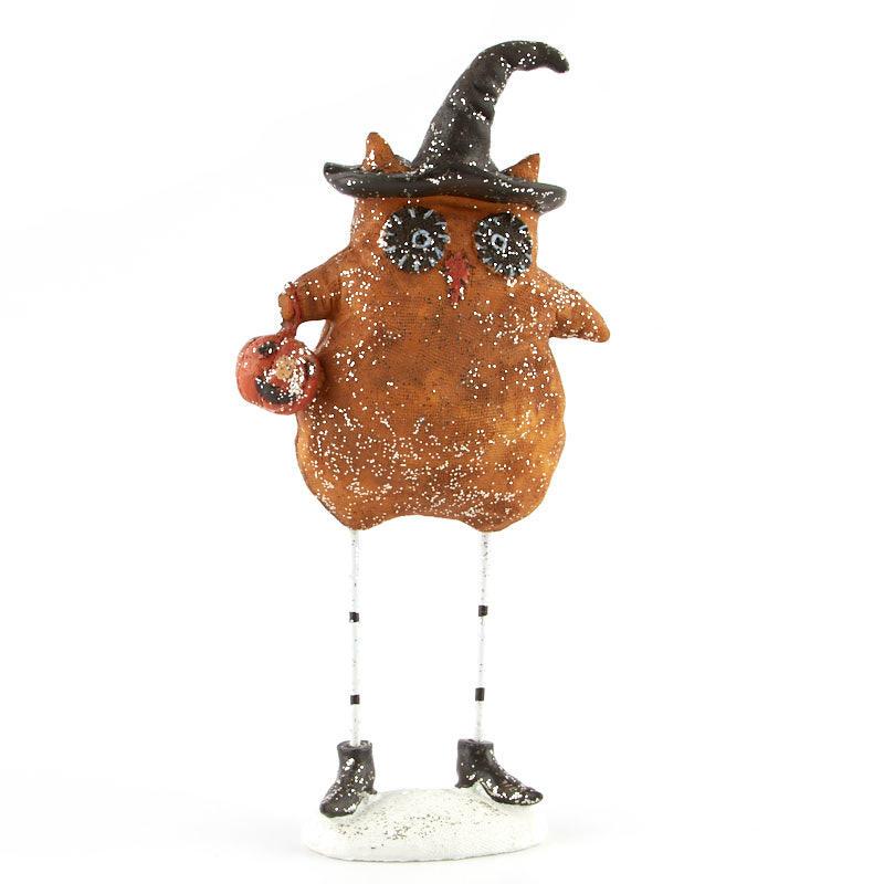 Halloween Owl Witch Figurine New Items