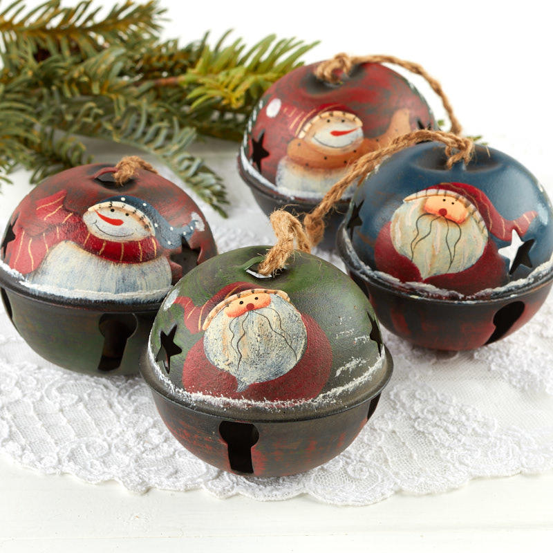 sleigh bell christmas ornaments