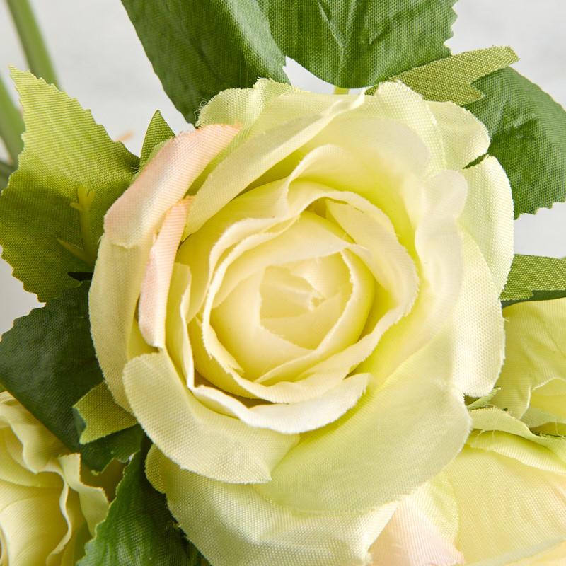 Light Green Roses Light Green Artificial...