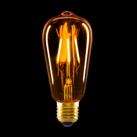 Yellow Glass LED Edison Bulb - Lamp Making - Basic Craft ...