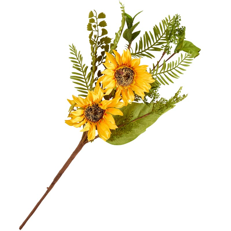 Realistic Artificial Sunflower Stem New Items