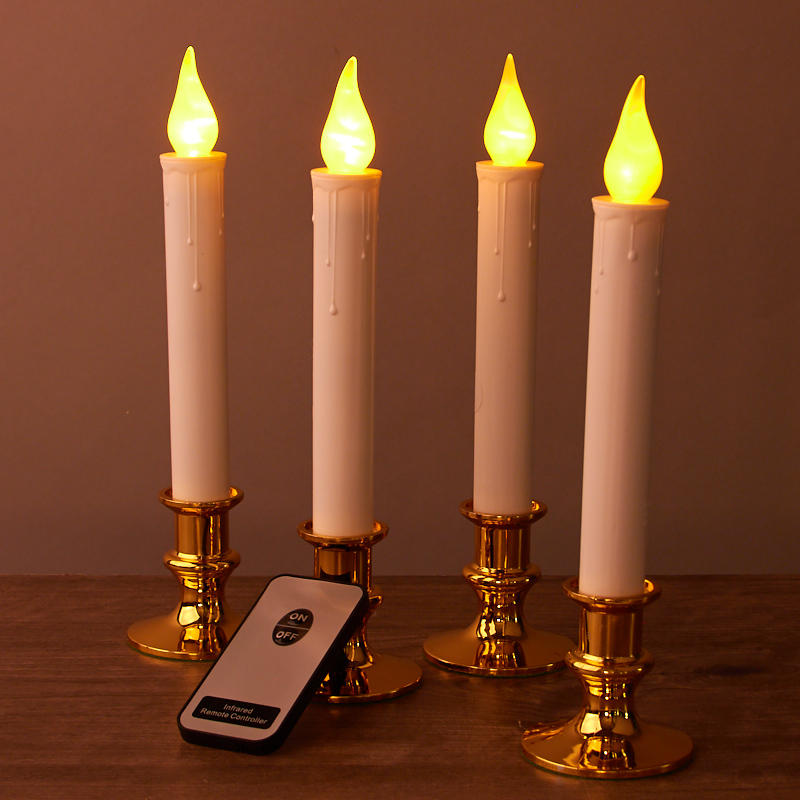 Battery Operated Welcome Candles with Remote - Lighting ...