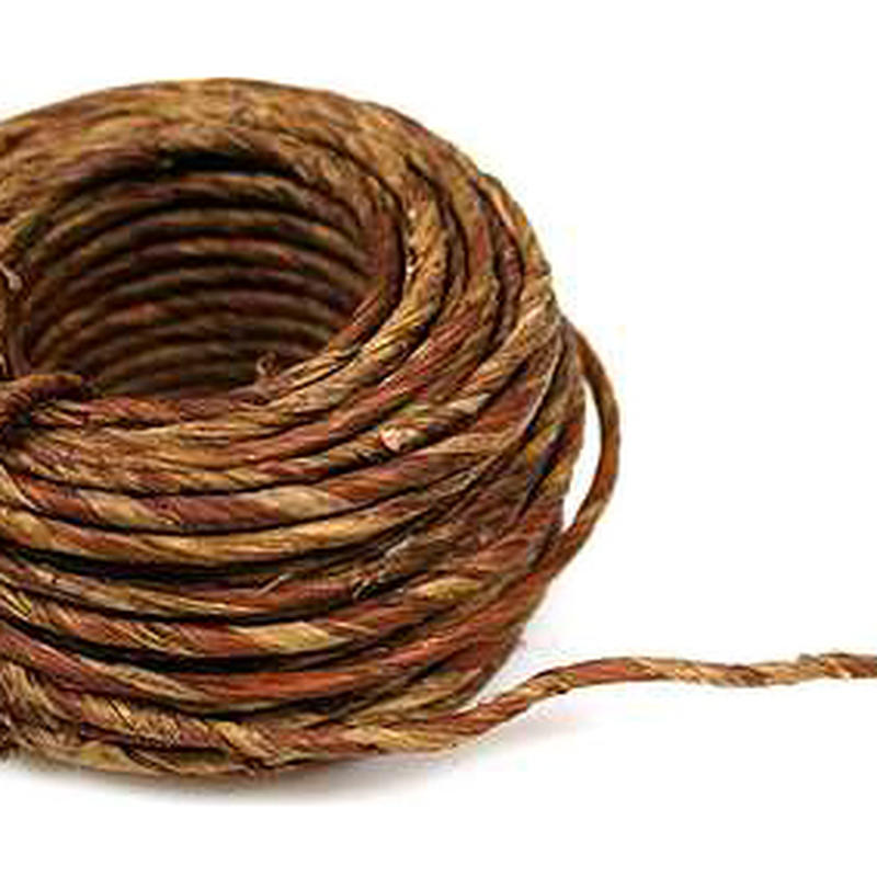 Natural Brown Vine Wired Rope
