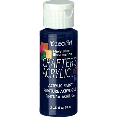Bulk decoart navy blue acrylic paint new items for Acrylic paint in bulk