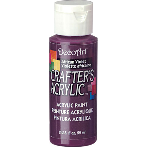 Bulk decoart african violet acrylic paint new items for Acrylic paint in bulk