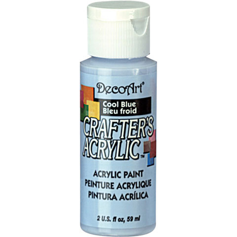 Bulk decoart cool blue acrylic paint new items for Acrylic paint in bulk