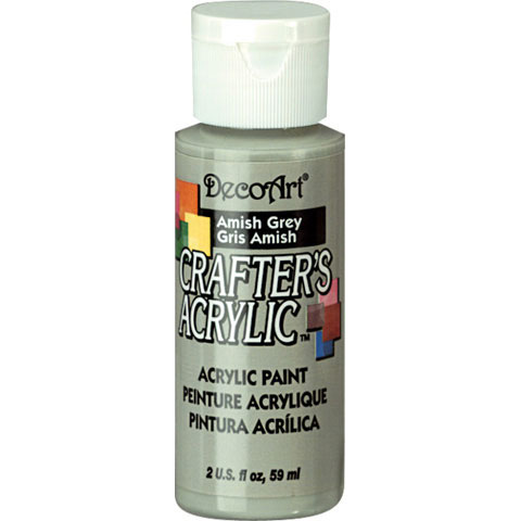 Bulk decoart amish grey acrylic paint paint painting for Acrylic paint in bulk