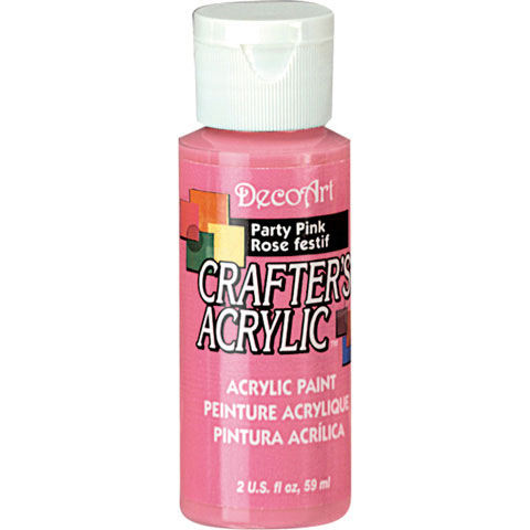 Bulk decoart party pink acrylic paint paint painting for Acrylic paint in bulk