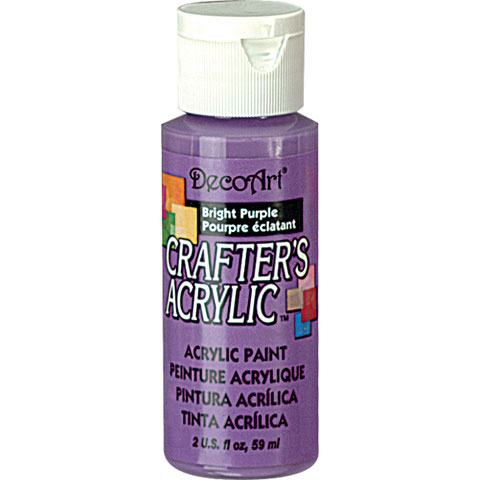 Bulk decoart bright purple acrylic paint paint for Acrylic paint in bulk