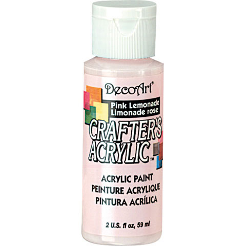 Bulk decoart pink lemonade acrylic paint paint for Acrylic paint in bulk