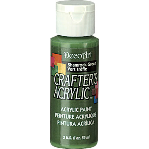 Bulk decoart shamrock green acrylic paint new items for Acrylic paint in bulk