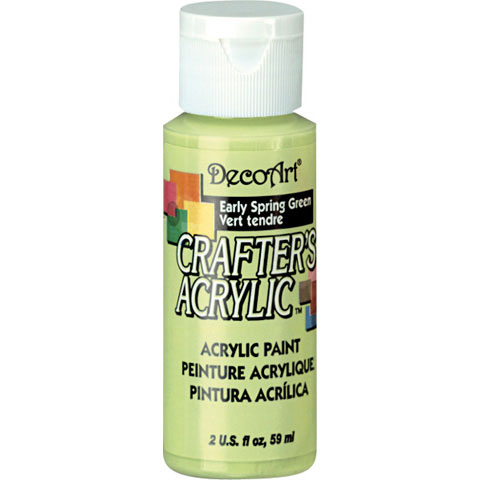 Bulk decoart early spring green acrylic paint paint for Acrylic paint in bulk