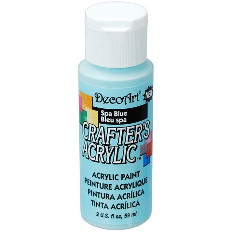 Bulk decoart spa blue acrylic paint paint painting for Acrylic paint in bulk