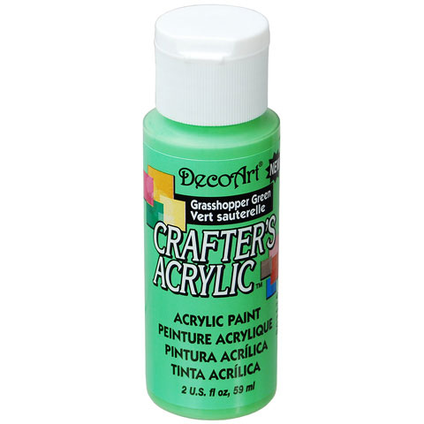 Bulk decoart grasshopper green acrylic paint what 39 s new for Acrylic paint in bulk