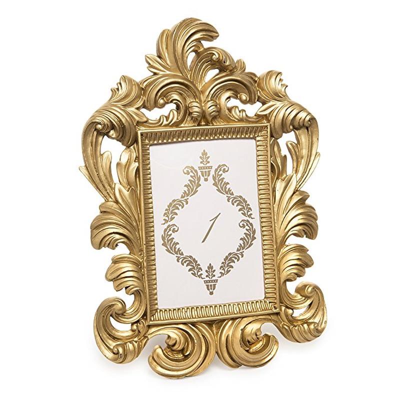 Vintage Inspired Gold Scroll Frame Picture Frames Home Decor
