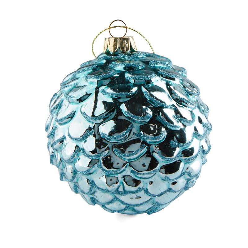 compare size - Light Blue Christmas Ornaments