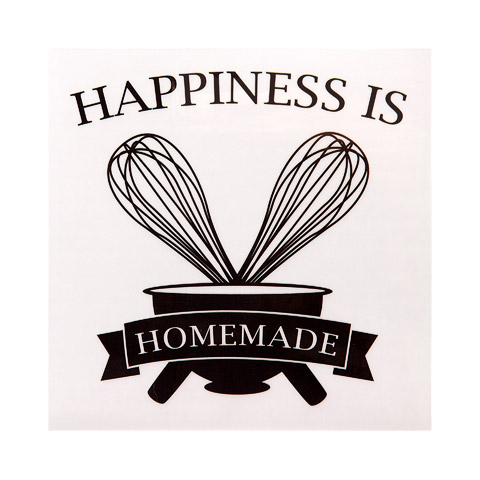 photograph about Happiness is Homemade called \