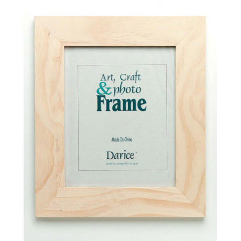 Unfinished Wood Photo Frame - Wooden Plaques and Signs - Wood Crafts ...