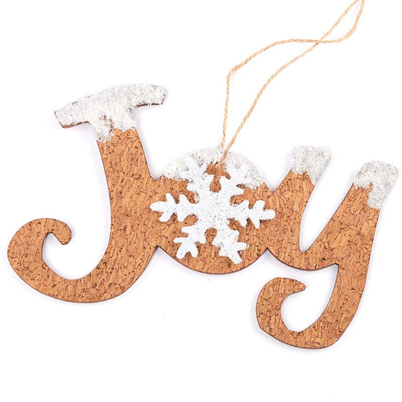 Joy Christmas Ornament - Christmas Ornaments - Christmas and Winter ...