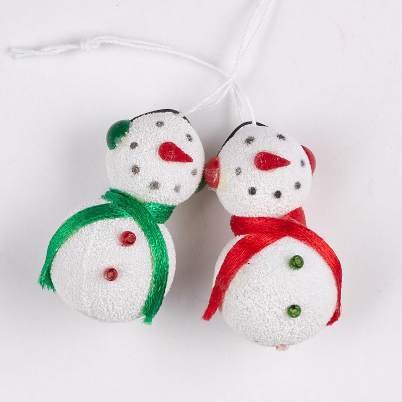 Miniature Snowman Ornaments Christmas Ornaments Christmas And