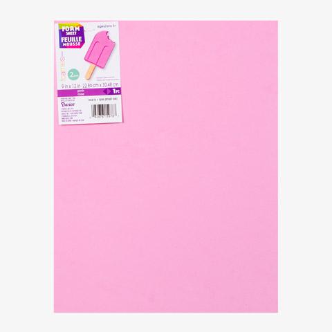 Pink Foam Craft Sheet