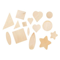 Unfinished wood shapes assortment wood cutouts for Craft supplies wooden shapes