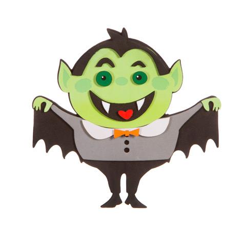 Vampire Halloween Foam Kit Activity Kits Kids Crafts Craft