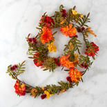 Autumn Artificial Mum Garland