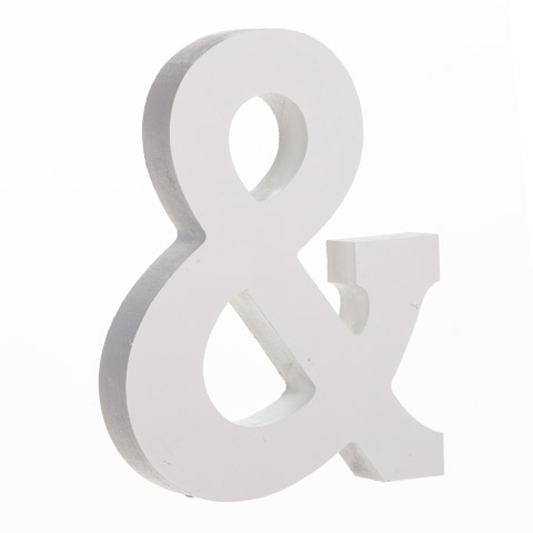 White Wood Classic Font Ampersand Word And Letter Cutouts Wood Crafts Craft Supplies