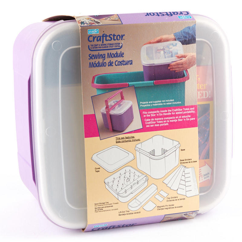 Portable Sewing Module Organizer Storage Containers Jewelry Making Craft Supplies Factory Direct Craft