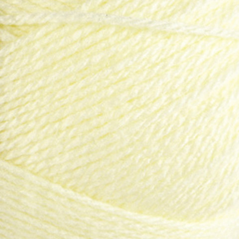 All Things You Solid Color Soft Yellow Acrylic Baby Yarn