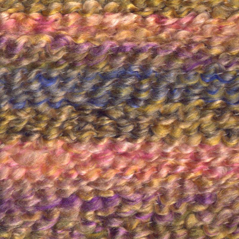 Lion Brand Homespun Thick Quick Praline Stripes Yarn Yarn
