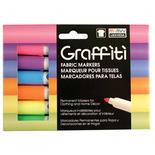 Fluorescent Marvy Uchida Graffiti Fabric Markers