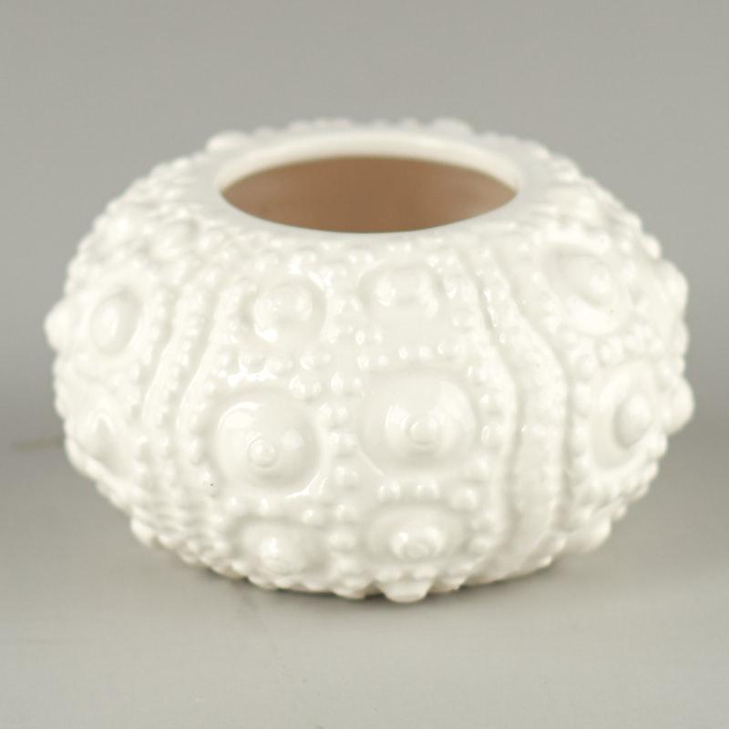 Faux Sea Urchin Bud Vase Coastal Decor Home Decor