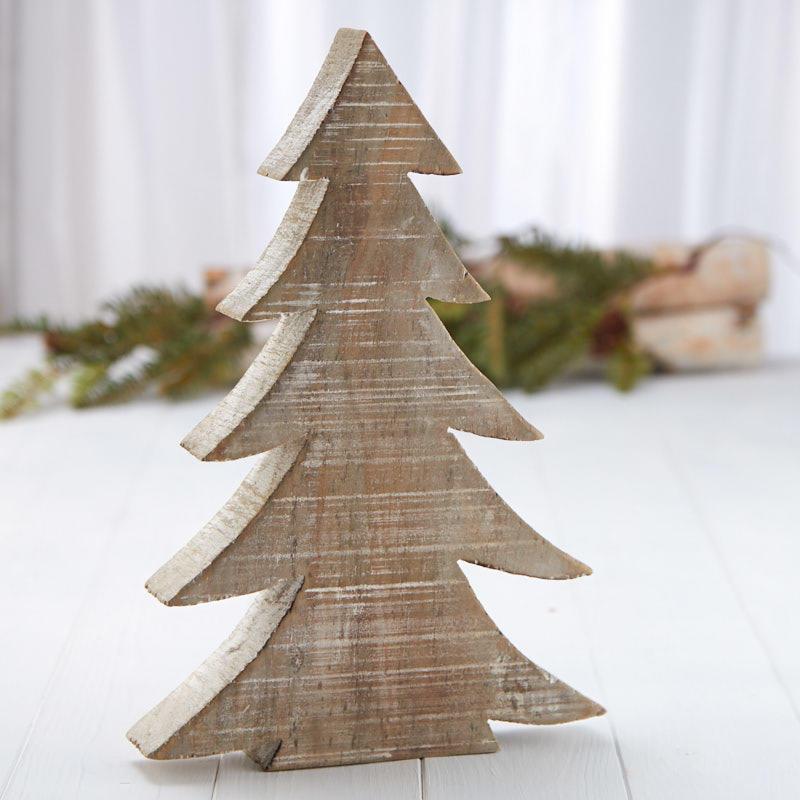 Rustic Wood Tabletop Christmas Tree Table Decor Home Decor