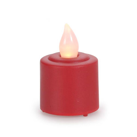 Red Flicker Flameless Votive Candle - Candles and ...