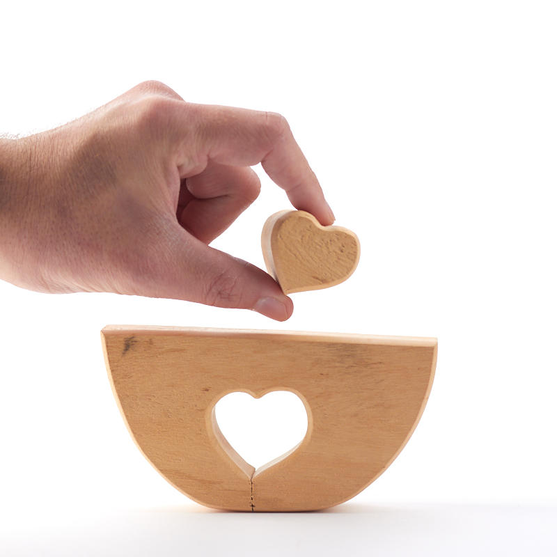 Unfinished wood bowl shaped block wood cutouts wood for Wooden blocks craft supplies