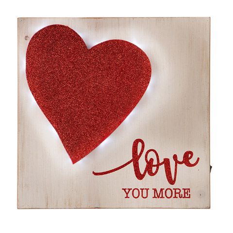 Love You More Wall Sign Signs And Frames Primitive Decor