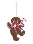 Felt Gingerbread Man Ornament Craft Kit