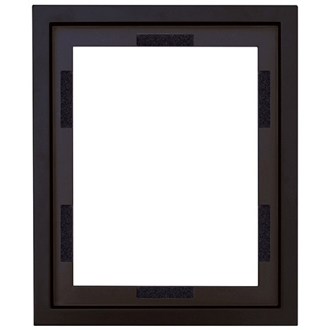 Black MCS Canvas Floating Frame - Picture Frames - Home Decor