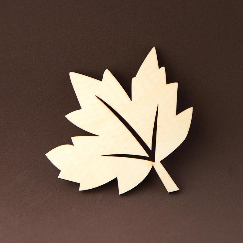 Unfinished Wood Maple Leaf Cutout Wood Cutouts Wood Crafts