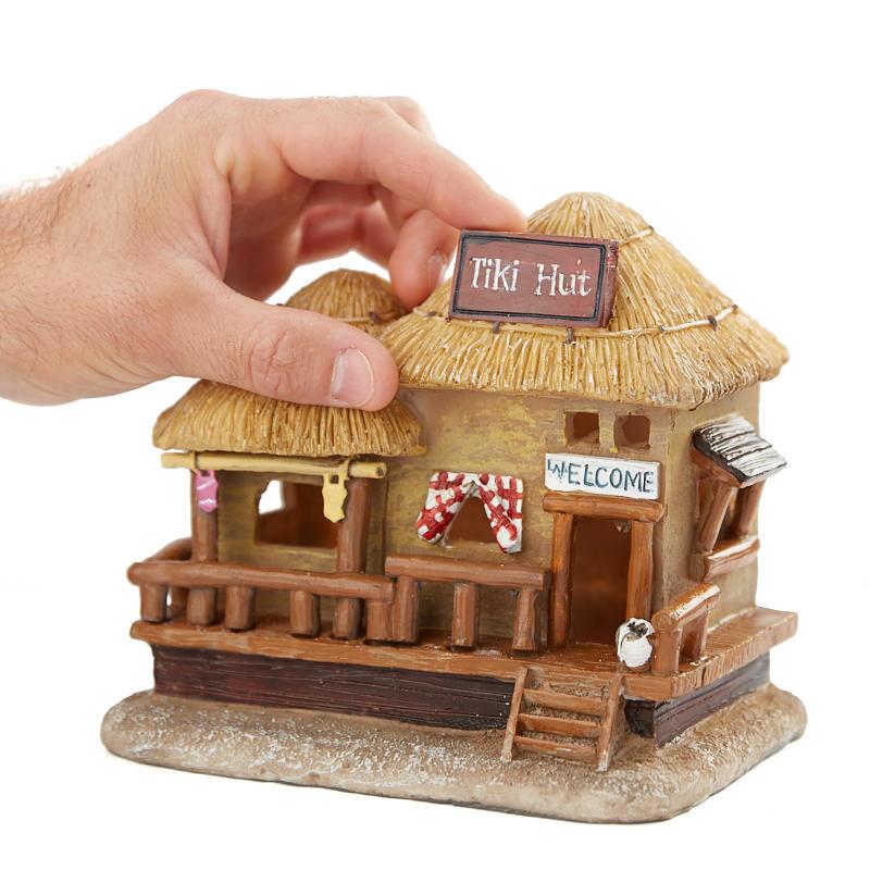 Sale Home Decor: Miniature LED Tiki Hut