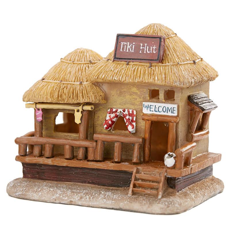 Miniature Led Tiki Hut On Sale Home Decor Home Decor