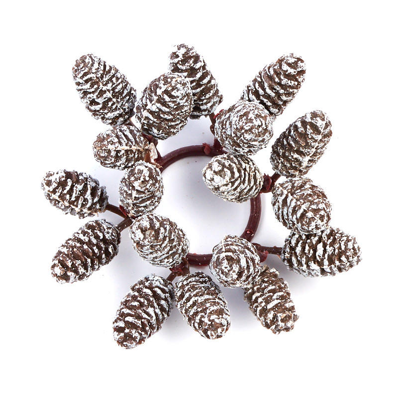 Artificial Pinecone Candle Ring - Candles and Accessories ...