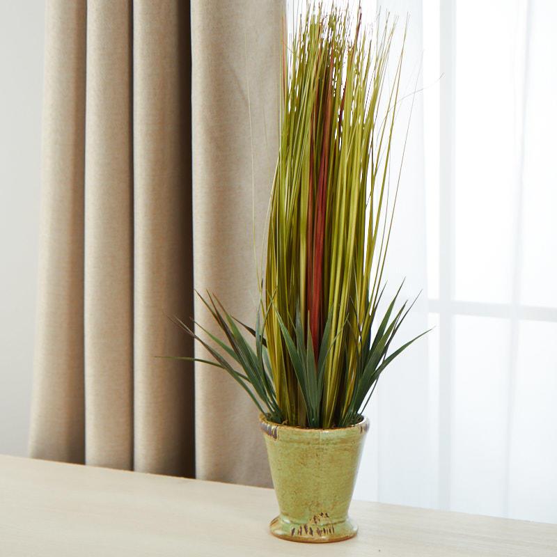 Artificial Wheat Grass Planter Artificial Greenery Floral
